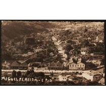 Cartão Postal Antigo Miguel Pereira Rj Panorama