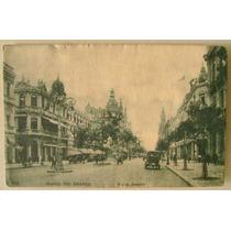Postal Rio De Janeiro 1913 - Avenida Rio Branco