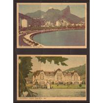 M717-postais Rio De Janeiro 4 Diferentes