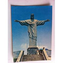 Cartao Posal Antigo Ceisto Redentor Rio De Janeiro Rj