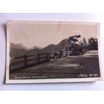 Cartao Postal Rio De Janeiro Tijuca Antigo Com Carro Antigo
