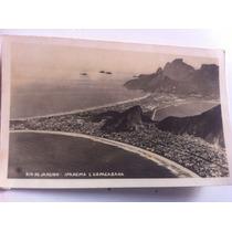 Cartao Postal Antigo Rio De Janeiro Copacabana Ipanema Raro