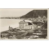 Rio De Janeiro - Postal Fotografico Antigo De Copacabana