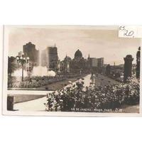 Ml-1006 Cartão Postal Antigo - Praça Paris Rj