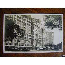 Avenida Rio Branco Rio De Janeiro 1928 Postal Circulado