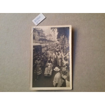 Rio De Janeiro - Foto Postal, Carnaval Na Avenida Rio Branco