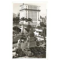 Postal São Paulo, Parque Anhangabaú. Carros Antigos.