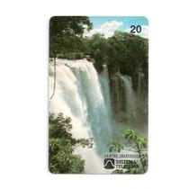 Cartao Telefonico - Natureza Viva - Cachoeira Acaba Vida -ba