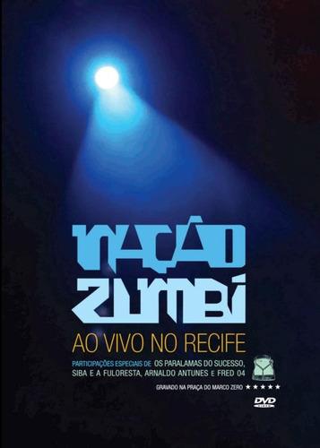 Nação Zumbi - Ao Vivo No Recife - Dvd Novo Lacrado