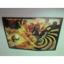Lote 5 Cards Naruto Ss - Dozu Kinuta Tsunade Hokage