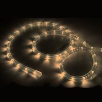 Mangueira Luminosa Led Alto Brilho 110v Branco Quente
