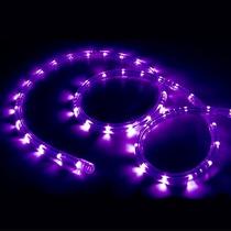 Mangueira Luminosa Led Alto Brilho 110v Roxo