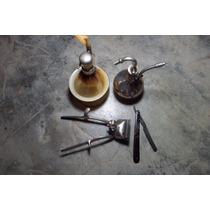 Kit Barbearia Antiga:navalha,maquininha