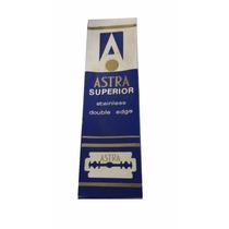 Lâminas Gillette - Astra - Fabricadas Na Tchecoslováquia.