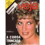 Veja Dezembro De 1992 A Coroa Trincada Lady Diana