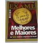 Revista Exame As 500 Melhores E Maiores Do Brasil Em 2005