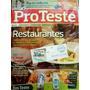 Revista Pro Teste 102-maio 2011 Restaurantes- Lacr- Cdlandia