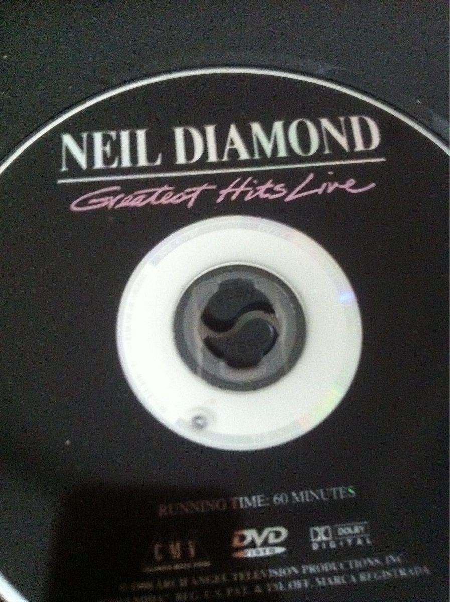 Neil diamond dvd greatest hits live r 19 99 no mercadolivre