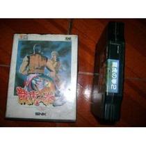 Art Of Fighting 2 Japones Na Caixa Para Neo Geo Caseiro