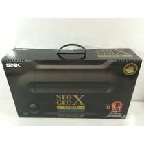 Neo Geo X Gold Limited Edition Asia Version C/ 20 Games !