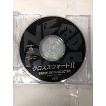 Cd De Neo Geo Original Crossed Swords 2 (jogo 1ª Pessoa )