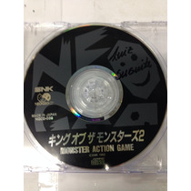 Cd De Neo Geo Original King Of Moster 2 ( Luta De Fases )