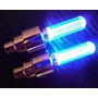 Par Bico De Pneu Neon Led P/ Rodas C/ Sensor+ Bateria Grátis