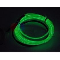 Tubo Fio Flexível Neon Verde 5 M