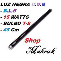 Lâmpada Luz Negra 15w Fluorescente T-8 = B.l.b Shopmabruk