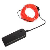 Fio Tubo Flexível Neon Vermelho