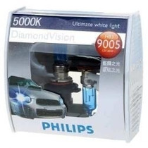 Lampada Diamond Vision Phillips 9005/hb3 5000k
