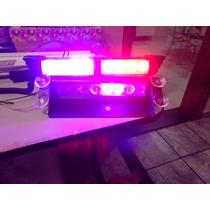 Strobo Safety Car Efeito Estroboscopica /em Azul E Red