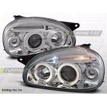 Par Farol Projector Angel Eyes Led + Xenon Corsa & Pick-up