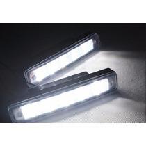 Palio Milha Neblina Day Light 5 Led Super Branco Lampada 12v