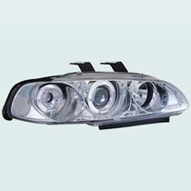 Farol Esportivo Projector Angel Honda Civic 92/95 2/3/4 Pr