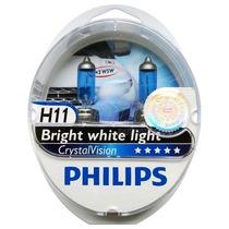 Lampadas Originais H11 Philips Crystal Vision 4300k