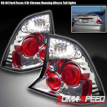 Lanterna Tunning Ford Focus Ano 00 - 04 Cromada -