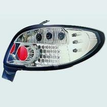 Lanterna Traseira Cristal Do Peugeot 206 Com Leds