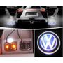 2x Projetor Imagem Logo Marcas Carro Led Cortesia Luz Porta