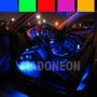 Barra 47cm Neon Leds P/ Iluminar Tapete Pedaleira Porta Mala