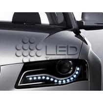 Fita Flexível De Led 12v Para Carro - Branco Frio(30cm)