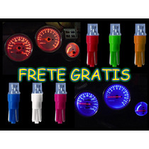 Kit 10 Lampada Pinguinho Led Neon P/ Painel Com Frete Gratis