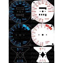 Cbx 750 Kit Acrilico P/ Painel + Leds Neon Tuning Sport Show