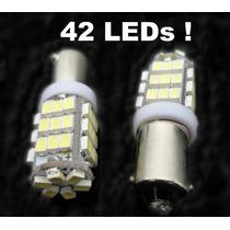 Par Lâmpada Pingo 42 Leds T69 Ba9s Xenon Power Ultra Brilho!