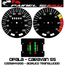 Acrilico Translucido Painel Show Cod584v200 Opala Ss Caravan