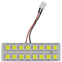 Lampada Teto Luz Salao 16 Led Automotiva Super Brilho Branca