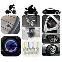 4 Bicos Neon Led Pneu Roda Bike Carro Moto Bicicleta+brinde
