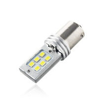 Lampada Re 1 Polo 1156 12 Led Smd Cree 3535 6000k Xenon 6w