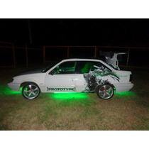 Verde Green Farol Milha Universal Led Drl Lampada Automotiva