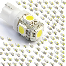Kit 100 Lâmpadas Pingo 5 Led